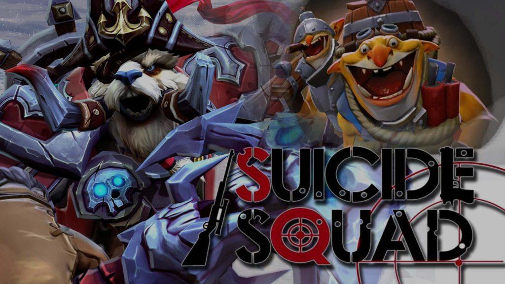 Suicide Squad Dota 2
